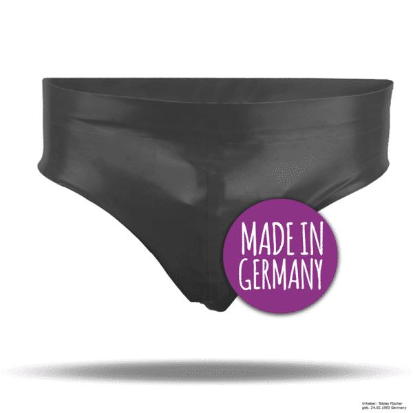 Latex Herrenslip Po-frei - made in germany