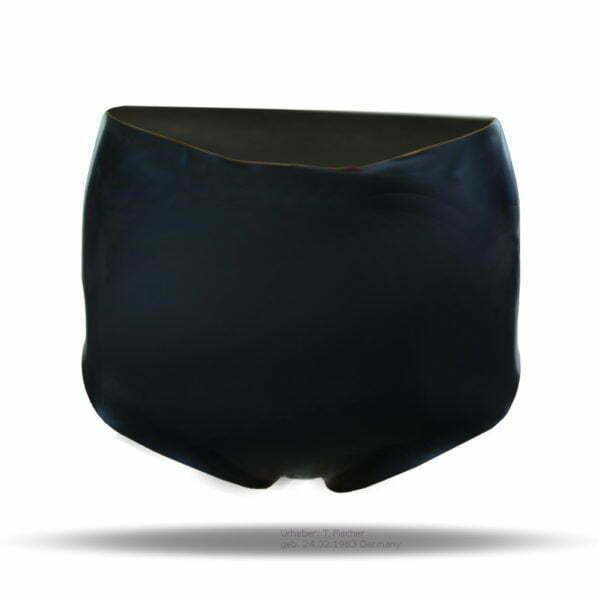 Slip für Damen aus 100% Latex